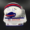 Bills - Frank Gore Signed Mini Helmet