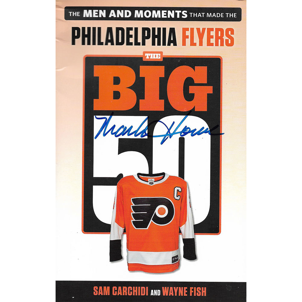 Mark Howe Autographed The Big 50 Softcover Book