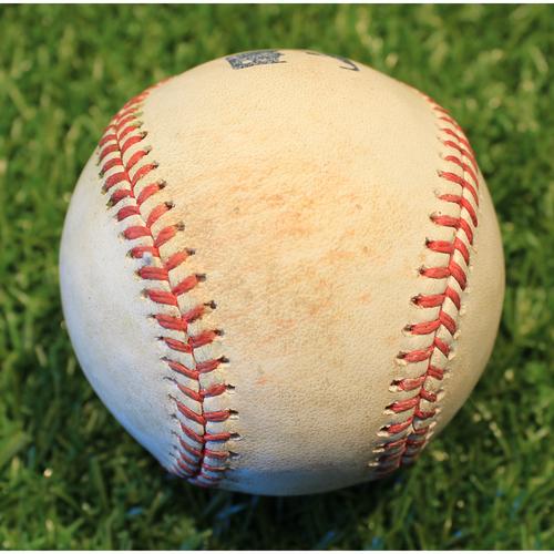Game-Used Baseball: Josh Palacios 7th Career Hit (TOR @ KC 4/17/21 Game 2)