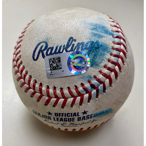 Photo of Game-Used Baseball: Harold Castro Detroit Tigers Pitch by Position Player (MLB AUTHENTICATED)