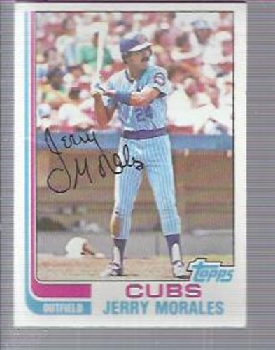 Photo of 1982 Topps #33 Jerry Morales