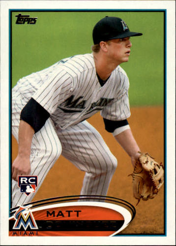 Photo of 2012 Topps #198 Matt Dominguez RC