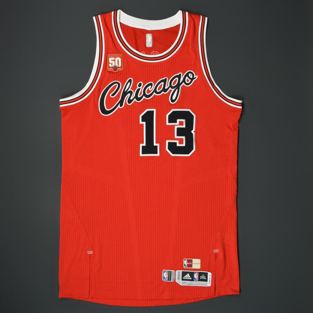 93d9196a6 Joakim Noah - Chicago Bulls - Game-Worn  1984-85 Hardwood Classics ...