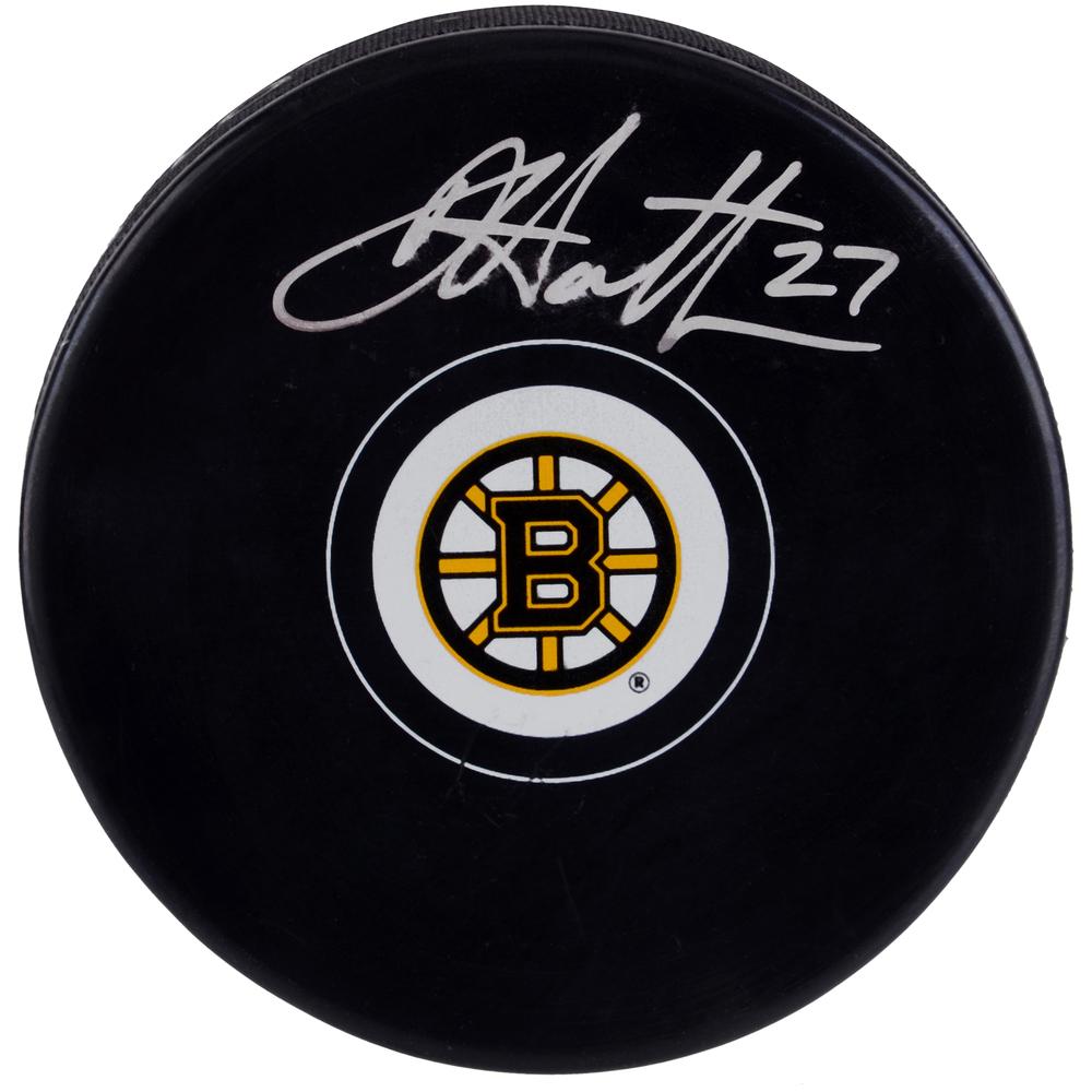 Dougie Hamilton Boston Bruins Autographed Hockey Puck