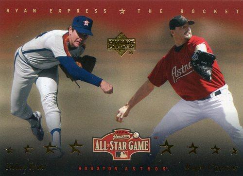 Photo of 2004 Astros Fanfest #10 Nolan Ryan/Roger Clemens/Upper Deck