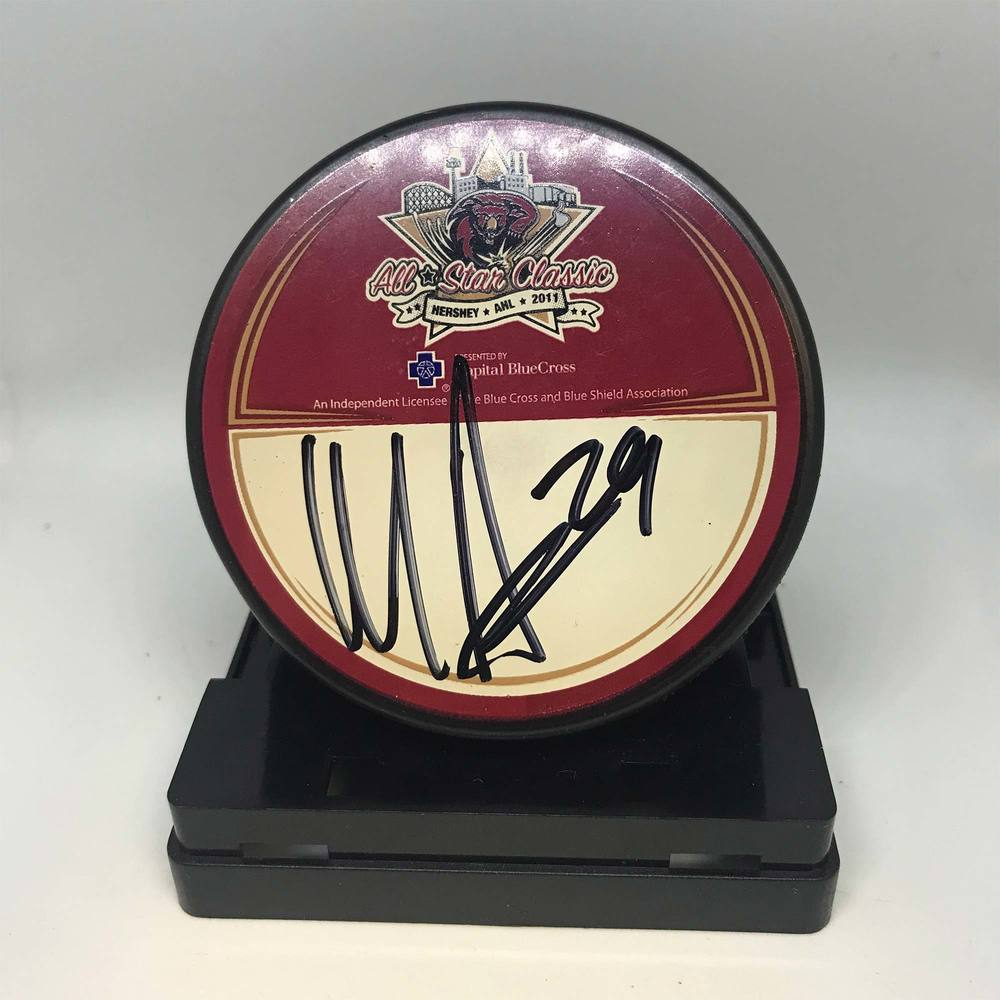 2011 AHL All-Star Classic Souvenir Puck Signed by #29 Matt Anderson