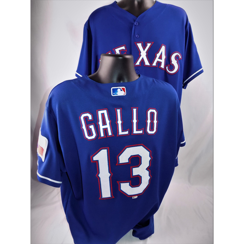 Photo of Joey Gallo Game-Used Jersey - Worn June 5, 2018 vs. Oakland A's (Went 1-3, HR #16) - Size 48
