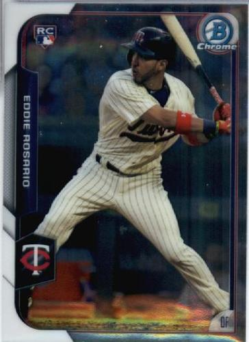 Photo of 2015 Bowman Chrome #176 Eddie Rosario RC