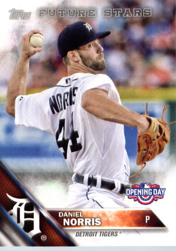 Photo of 2016 Topps Opening Day #OD179 Daniel Norris