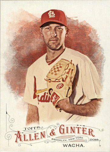 Photo of 2016 Topps Allen and Ginter #283 Michael Wacha