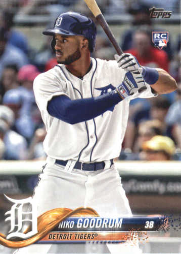 Photo of 2018 Topps #639 Niko Goodrum RC
