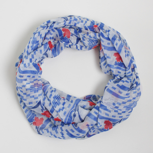 Toronto Blue Jays Logo Infinity Shawl by Gertex