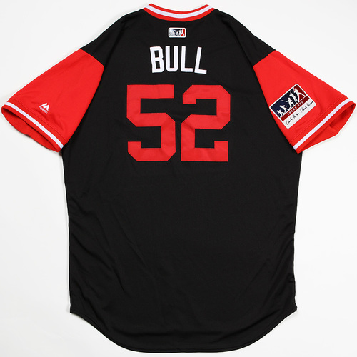 "Photo of Zack ""Bull"" Godley Arizona Diamondbacks Game-Used Players' Weekend Jersey"
