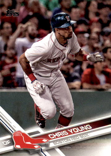 Photo of 2017 Topps #654 Chris Young