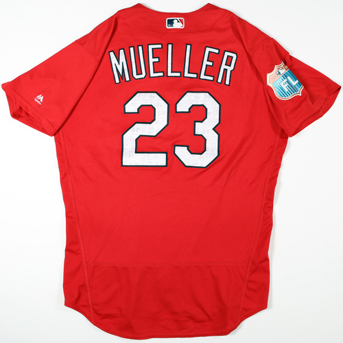 Photo of 2016  Spring Training -  Game-Used Jersey - Bill Mueller (Cardinals) - Size 46