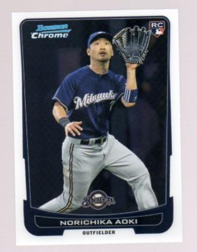 Photo of 2012 Bowman Chrome #52 Norichika Aoki RC