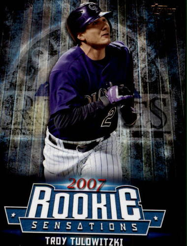 Photo of 2015 Topps Update Rookie Sensations #RS7 Troy Tulowitzki
