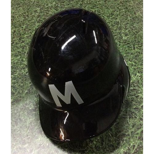Tyler Saladino 2018 Game-Used Milwaukee Bears Batting Helmet