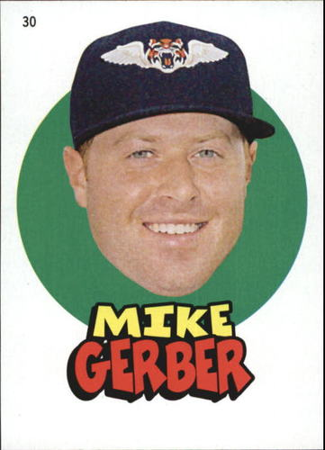 Photo of 2016 Topps Heritage Minors '67 Topps Stickers #30 Mike Gerber