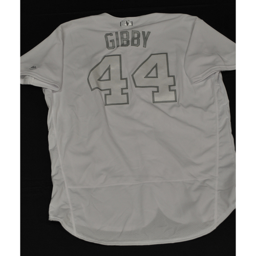 "Photo of Kyle ""GIBBY"" Gibson Minnesota Twins Game-Used 2019 Players' Weekend Jersey"