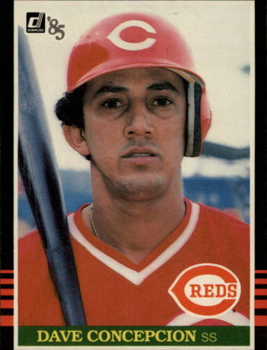 Photo of 1985 Donruss #203 Dave Concepcion