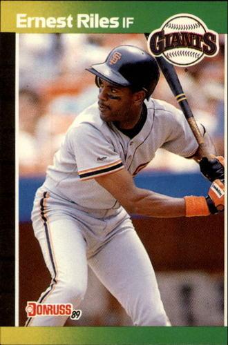 Photo of 1989 Donruss #625 Ernest Riles DP