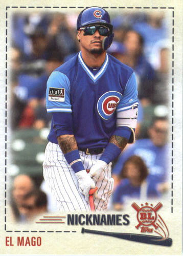 Photo of 2019 Topps Big League Players Weekend Nicknames #PW7 Javier Baez