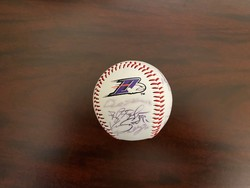Photo of 2012 Dash team autographed ball