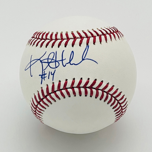 Photo of Minnesota Twins Autographed 1991 World Series Baseball - Kent Hrbek