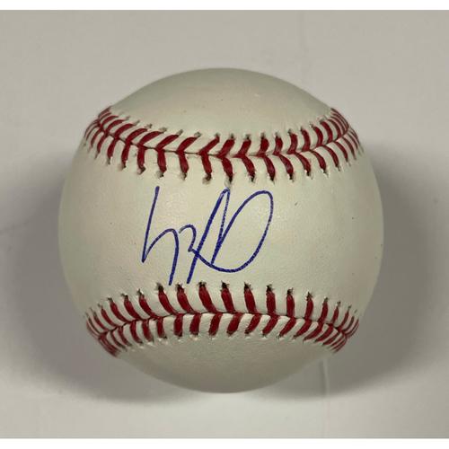 Photo of Luis Robert Autographed Baseball
