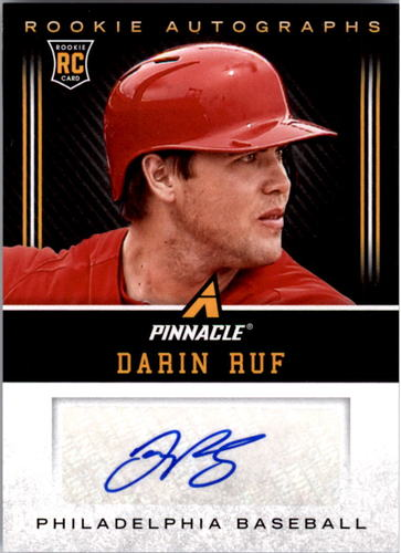 Photo of 2013 Pinnacle Rookie Autographs #DR Darin Ruf