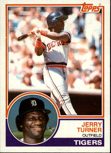 Photo of 1983 Topps #41 Jerry Turner