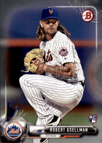 Photo of 2017 Bowman #34 Robert Gsellman Rookie Card
