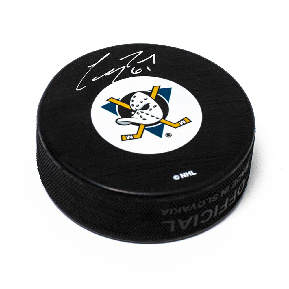 Corey Perry Mighty Ducks Of Anaheim Ducks Autographed Rookie Hockey Puck