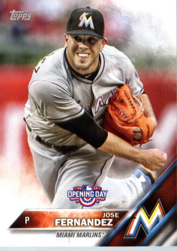 Photo of 2016 Topps Opening Day #OD191 Jose Fernandez