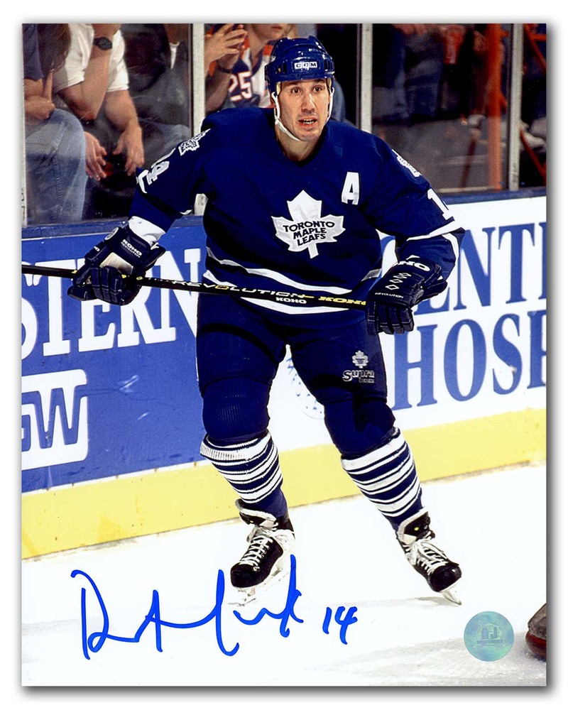 Dave Andreychuk Toronto Maple Leafs Autographed Hockey 8x10 Photo