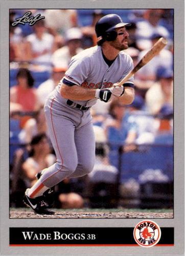 Photo of 1992 Leaf #286 Wade Boggs