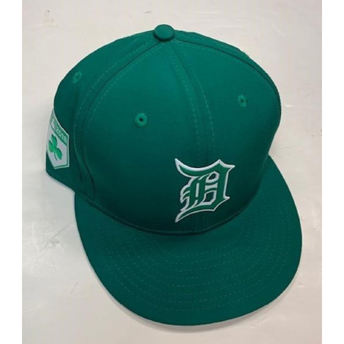 Photo of Game-Used St. Patrick's Day Cap: Miguel Cabrera