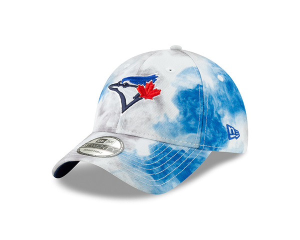 Toronto Blue Jays Colour Disturbance Adjustable Cap by New Era