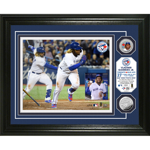 Photo of Vladimir Guerrero Jr Debut Bronze Coin Photo Mint
