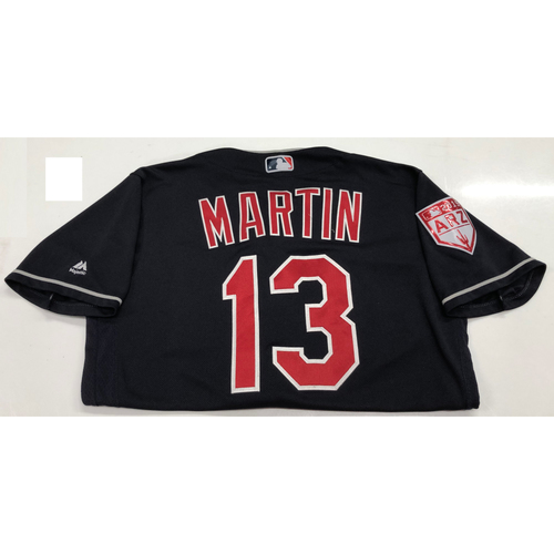 Photo of Leonys Martin 2019 Team-Issued Spring Training Jersey