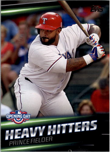 Photo of 2016 Topps Opening Day Heavy Hitters #HH15 Prince Fielder