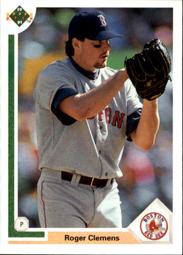 Photo of 1991 Upper Deck #655 Roger Clemens