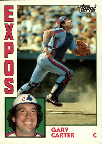 Photo of 1984 Topps Super #18 Gary Carter
