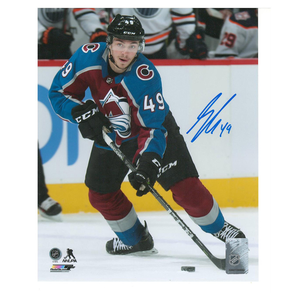 SAMUEL GIRARD Signed Colorado Avalanche 8 X 10 Photo - 70237 A