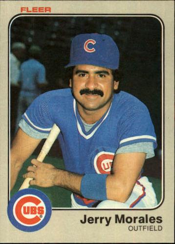 Photo of 1983 Fleer #502 Jerry Morales