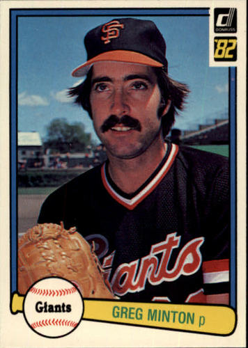 Photo of 1982 Donruss #348 Greg Minton