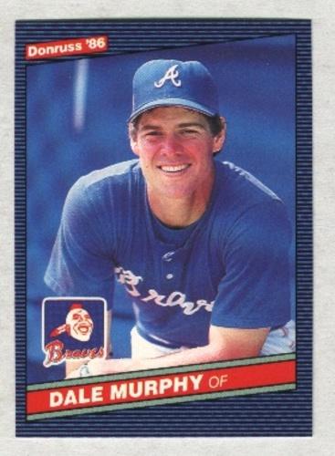 Photo of 1986 Donruss #66 Dale Murphy