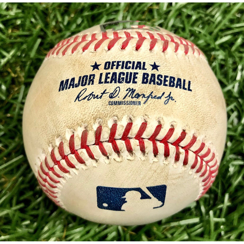 Photo of Game Used Baseball: Vladimir Guerrero Jr. Single off Blake Snell - July 26, 2020 v TOR