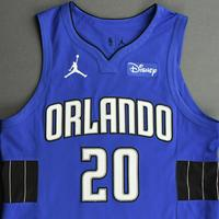 Markelle Fultz - Orlando Magic - Kia NBA Tip-Off 2020 - Game-Worn Statement Jersey